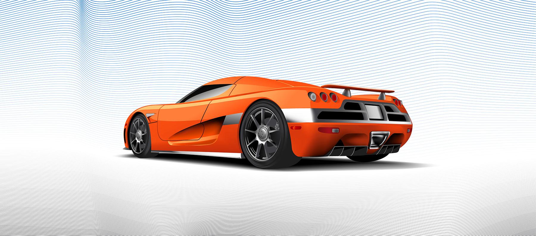Koenigsegg CCX Illustration AI9
